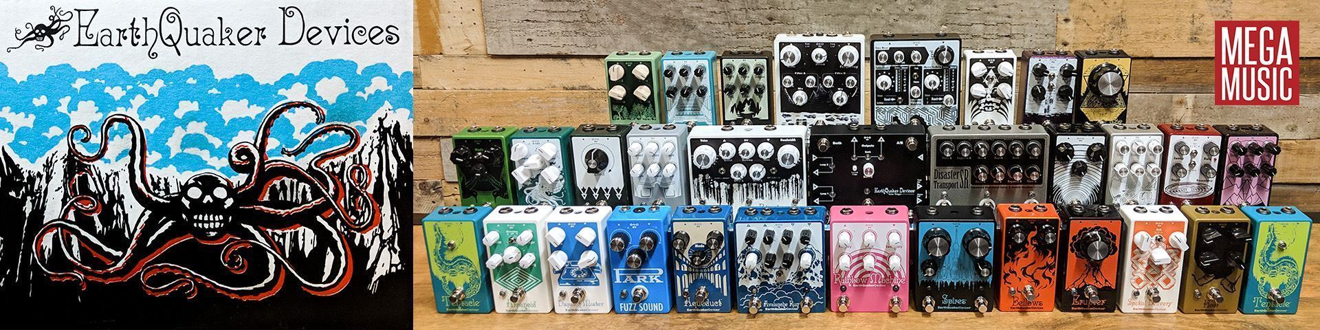 EarthQuaker Devices Effects Pedals Now Available at Mega Music