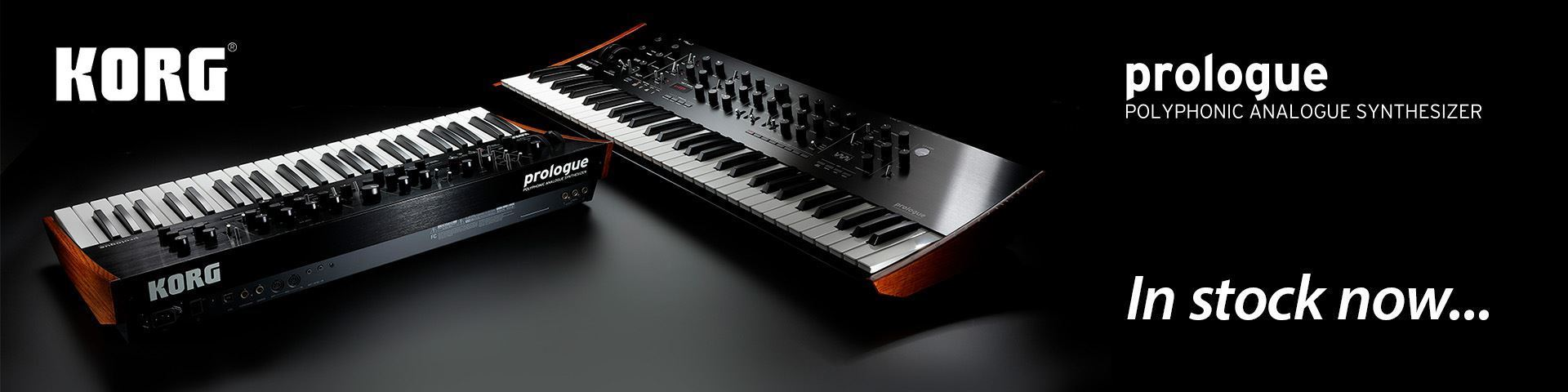 Korg Prologue In Stock Now at Mega Music