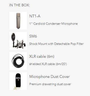 rode nt1 a vocal condenser microphone bundle nt1a perth mega music online. Black Bedroom Furniture Sets. Home Design Ideas