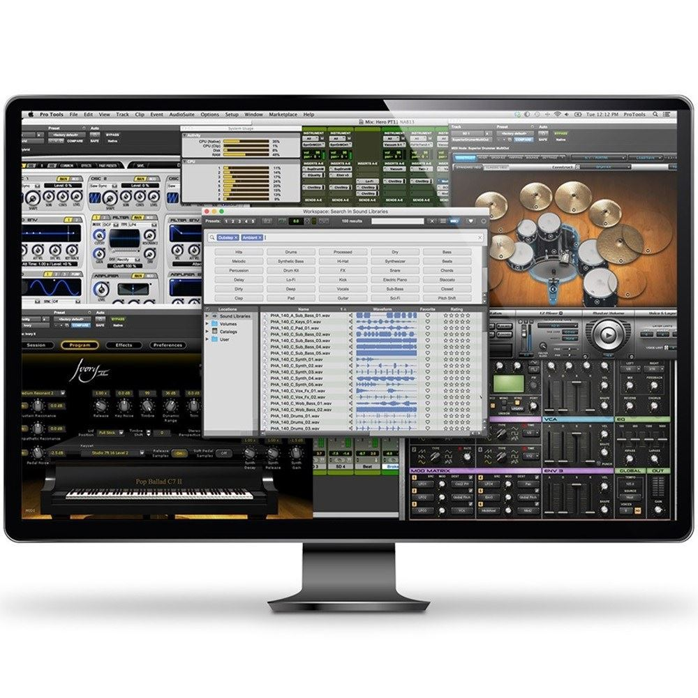 Avid Pro Tools Perpetual Licence Electronic Delivery 2