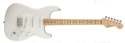Fender American Original '50s Stratocaster Electric Guitar - Maple Neck - White Blonde Front