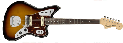 Fender American Original '60s Jaguar Electric Guitar - Round-Laminated Rosewood - 3-Colour Sunburst Front
