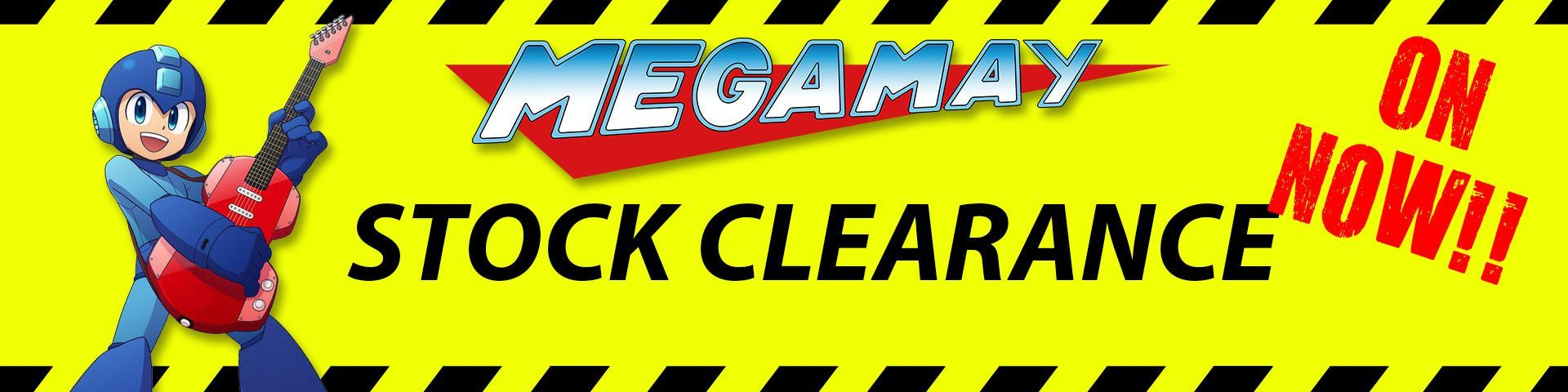 Mega May Stock Clearance On Now