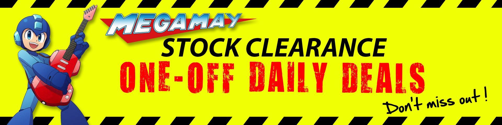 Mega May Stock Clearance - Deal of the Day