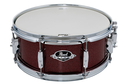 Pearl Export 14x5.5 inch Snare Drum - Black Cherry Glitter