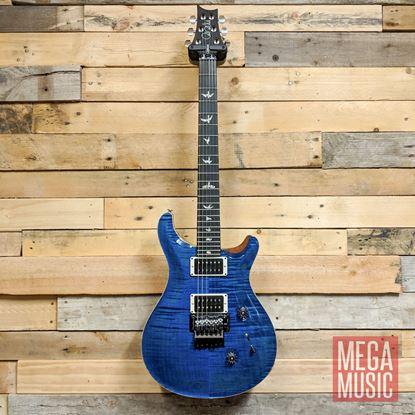 PRS Custom 24 Floyd Rose Electric Guitar - Aquamarine Front