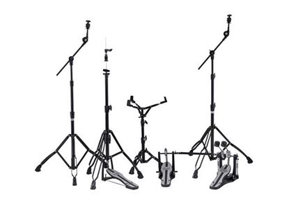 Mapex Mars 600 Series Hardware Pack with P600TW Double Pedals - Deluxe Black