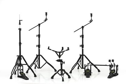 Mapex Armory 800 Series Hardware Pack with P800TW Double Pedal - Deluxe Black