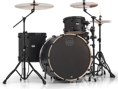 Mapex Mars Series Rock 4-Piece Shell Pack Drum Kit with 24 inch Kick - Fast Nightwood