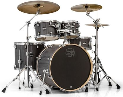 Mapex Mars Series Rock 5-Piece Shell Pack with 22-inch Kick - Smokewood