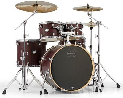Mapex Mars Series Rock 5-piece Shell Pack Drum Kit with 22-inch Kick - Bloodwood