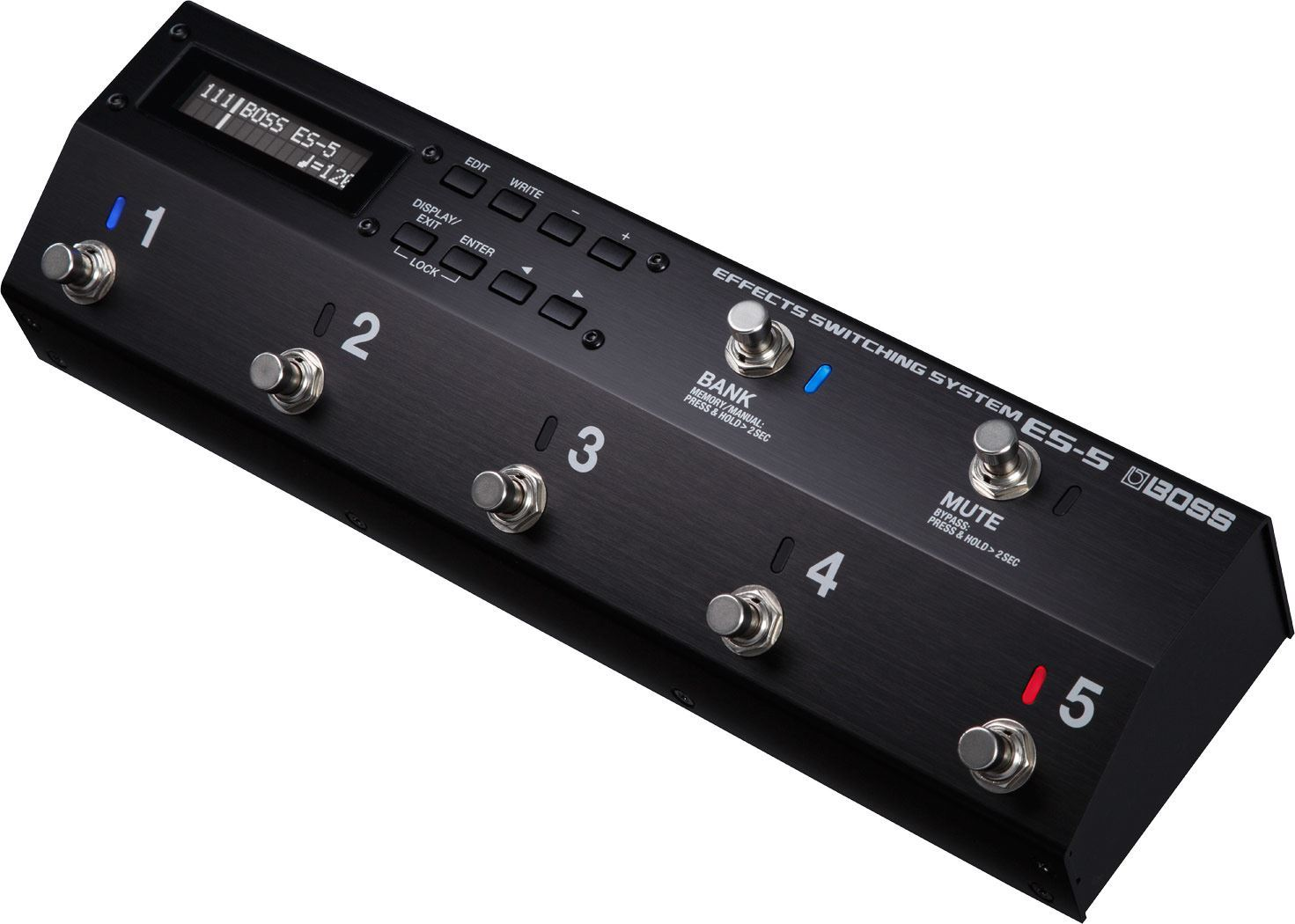 Boss ES-5 Effects Switching System Angle