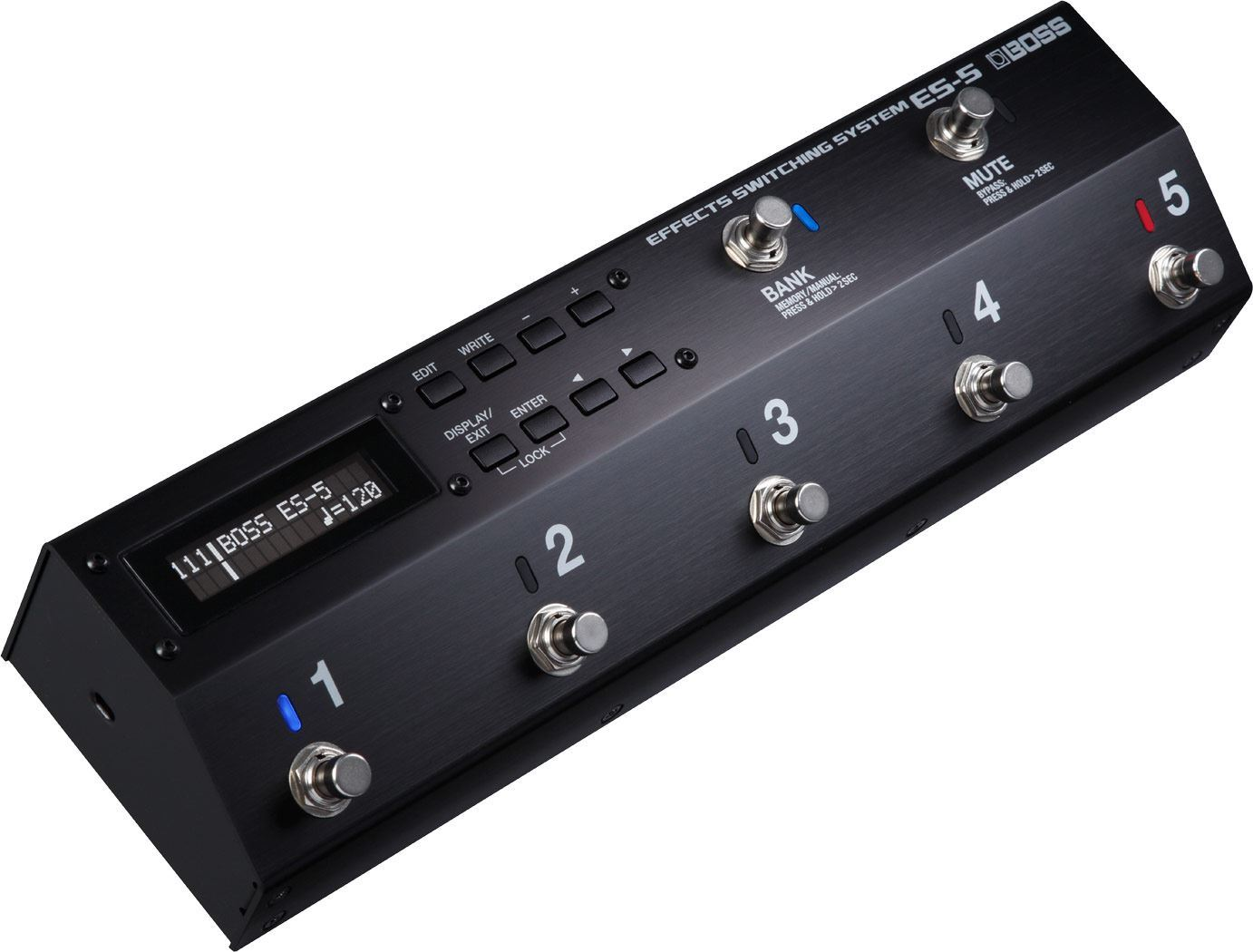 Boss ES-5 Effects Switching System Angle 1