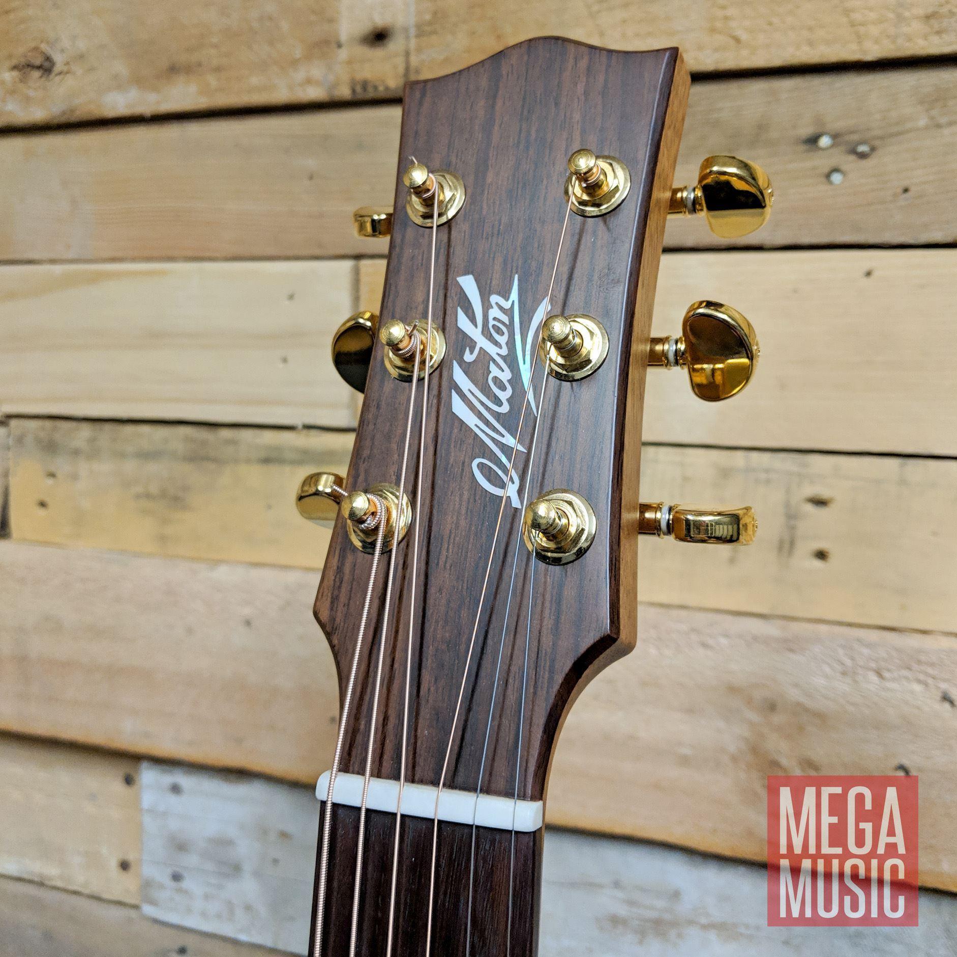 Maton ER90c Acoustic Guitar Front Head