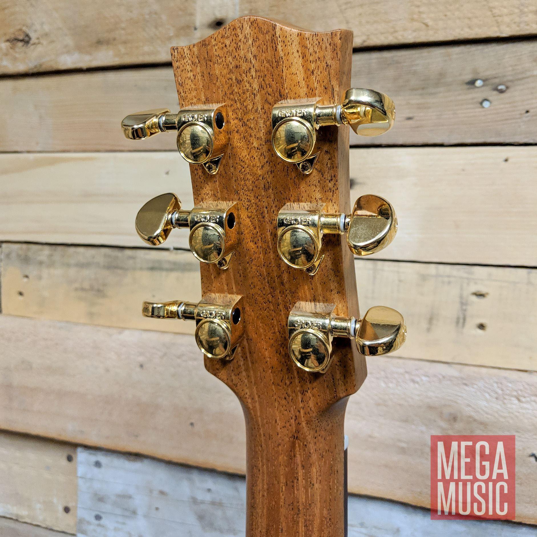 Maton ER90c Acoustic Guitar Rear Head
