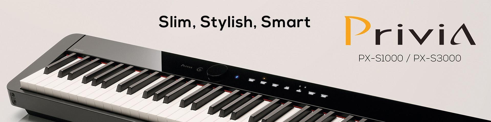 Casio PX-S Digital Pianos
