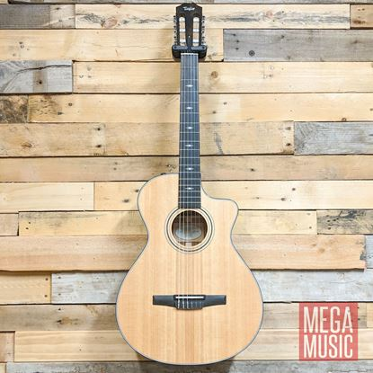 Taylor 312ce-N Spruce/Sapele Classical Guitar Front
