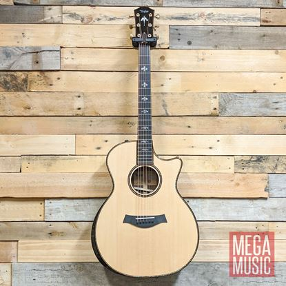 Taylor 914ce Spruce/Rosewood Acoustic Guitar with Pickup and Cutaway Front