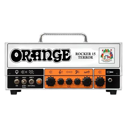 Orange Rocker 15 Terror Guitar Valve Head - Front