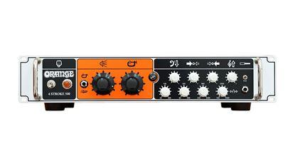 Orange 4 STROKE 500 Bass Head - Front