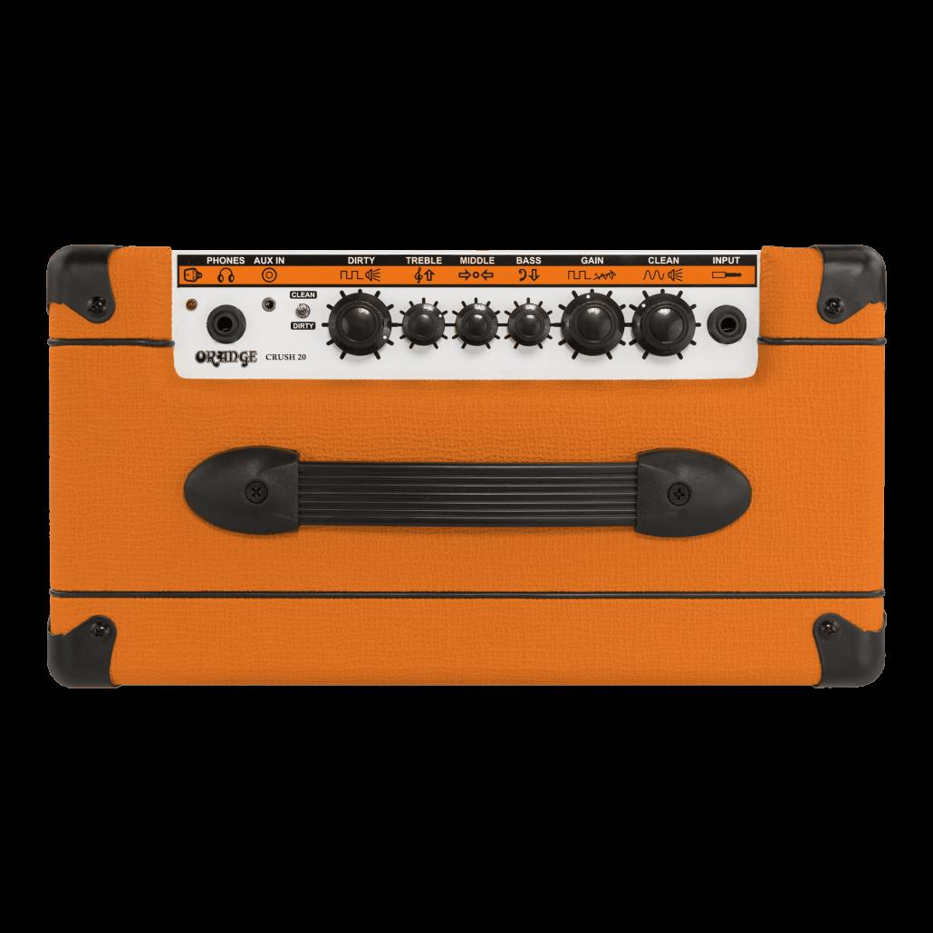 Orange Crush 20 Combo Amplifier - Top