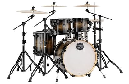 Mapex Armory 5-Piece Shell Pack Drum Kit with 22 inch Kick - Black Dawn