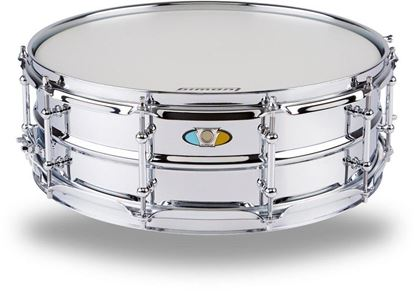 Ludwig 5x15 Supralite Steel Snare Drum - Front