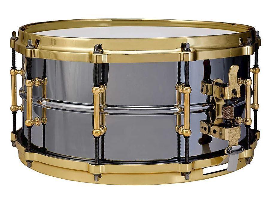 Ludwig 14 Quot X6 5 Quot Black Beauty Smooth Brass W Tube Lugs Mega Music Perth Mega
