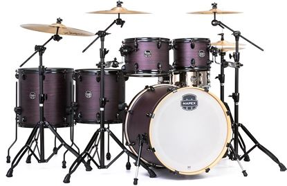 Mapex Armory 6-Piece Shell Pack Drum Kit with 22 inch Kick - Purple Haze