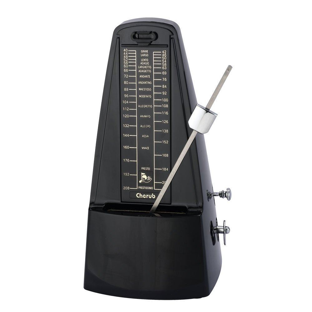 Cherub WSM330 Mechanical Metronome - Black