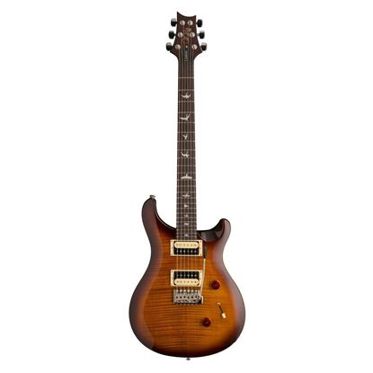 PRS SE Custom 24 Electric Guitar - Tobacco Sunburst - Front
