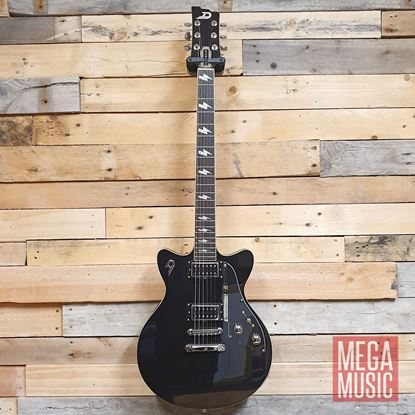 Duesenberg Bonneville Electric Guitar in Black - Front
