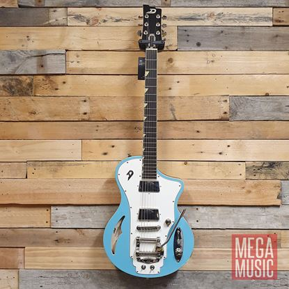 Duesenberg Julia Electric Guitar in Narvik Blue - Front