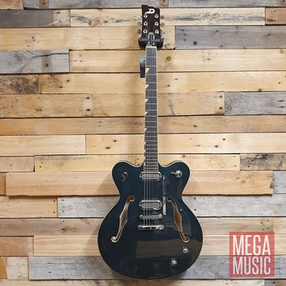 Duesenberg Gran Majesto Double Cut (Stoptail) Electric Guitar in Catalina Green - Front