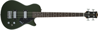 Gretsch G2220 Junior Jet Short Scale Bass Guitar - Black Walnut Fingerboard - Torino Green