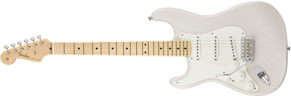 Fender American Original '50s Stratocaster Electric Guitar Left Handed - Maple Neck - White Blonde
