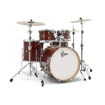 Gretsch Catalina Maple CM5 22 5pc Drum Kit - Walnut Glaze - Front