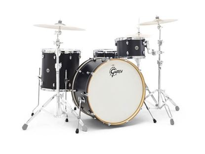 Gretsch Catalina Club 4pc Drum Kit with 20 Inch Kick - Piano Black