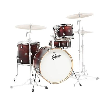 Gretsch Catalina Club 4pc Drum Kit with 20 Inch Kick - Satin Antique Fade