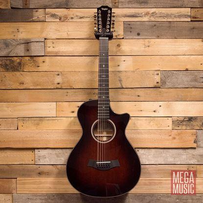 Taylor 562ce 12-String Mahogany/Mahogany Acoustic Guitar Front