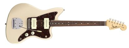 Fender American Original 60s Jazzmaster Electric Guitar - Rosewood Fingerboard - Olympic White - Front