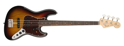 Fender American Original 60s Jazz Bass Guitar - Rosewood Fingerboard - 3 Colour Sunburst - Front