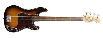 Fender American Original 60s Precision Bass Guitar - Rosewood Fingerboard - 3 Colour Sunburst - Front