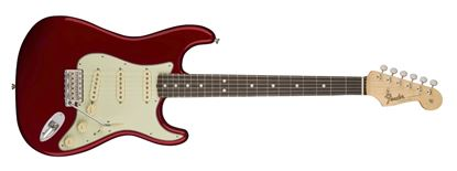 Fender American Original 60s Stratocaster Electric Guitar - Rosewood Fingerboard - Candy Apple Red - Front