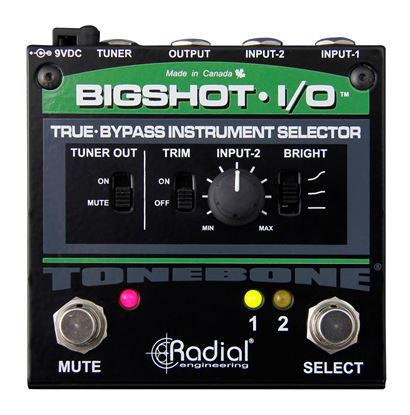 Radial BigShot Instrument Switcher (2-in/1-out) - Front