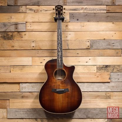 Taylor K24ce Koa Acoustic Guitar with Pickup and Cutaway Front