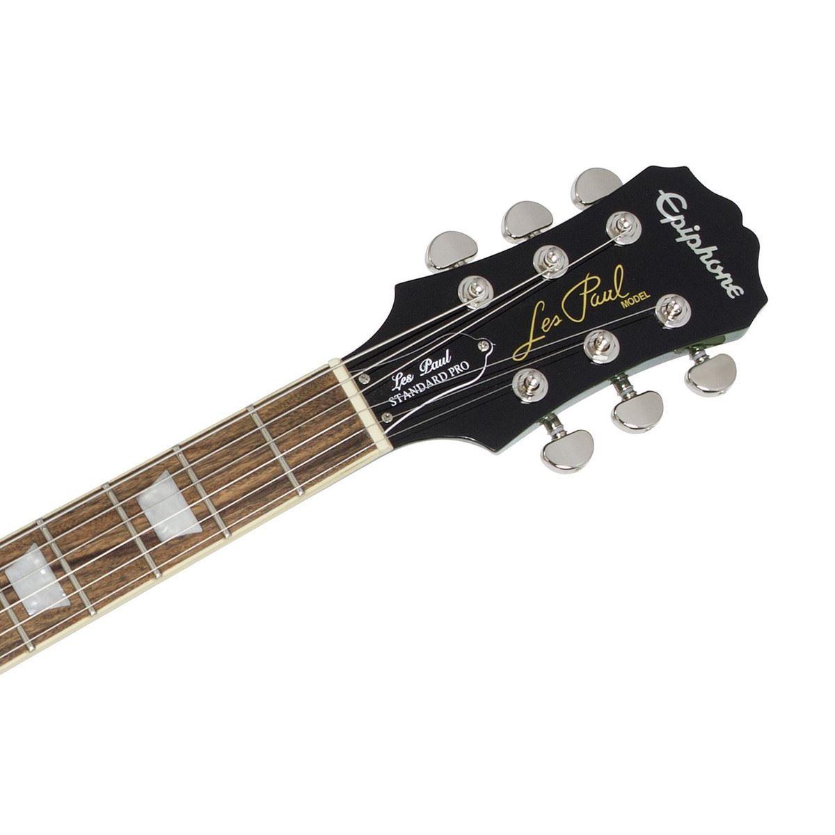 Epiphone Les Paul Standard PlusTop Pro Electric Guitar Green Burst
