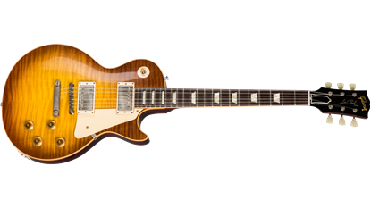 Gibson Custom Shop 1959 Les Paul Standard Electric Guitar Royal Teaburst Gloss - Front