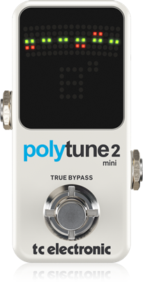 TC Electronic PolyTune 2 Mini Pedal - Front