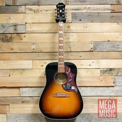 Epiphone Hummingbird Pro Limited Edition Acoustic Guitar Vintage Sunburst - Front